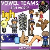 Long I Vowel Team 'igh' - Clip Art Bundle {Educlips Clipart}