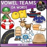 Long O Vowel Team 'oa' - Clip Art Bundle {Educlips Clipart}