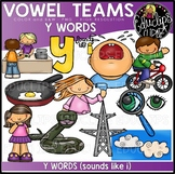 Long I Vowel Team 'y' (i sound) - Clip Art Bundle {Educlips Clipart}