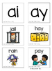 Long Vowel Teams: AI  & AY (Color and B&W)