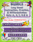 Long Vowel Teams Activities BUNDLE