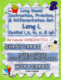 Long Vowel Teams Activities: Long i, Spelled i_e, ie, y, & igh