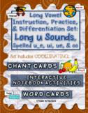 Long Vowel Teams Activities: Long u Sounds, Spelled u_e, ui, ue, & oo