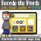 Long Vowel Teams BUNDLE Turtle out the Words using Google Classroom