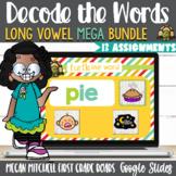 Long Vowel Teams BUNDLE Turtle out the Words using Google