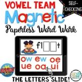 Long Vowel Teams Boom Cards: Digital Word Work for 1st Gra