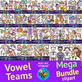 Long Vowel Teams Clipart MEGA BUNDLE