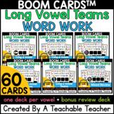 Long Vowel Teams Digital Word Work   Long Vowel Teams Boom