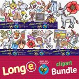 Long Vowel Teams -E- Clipart BUNDLE