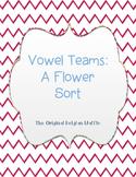 Long Vowel Teams Flower Word Sort