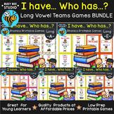 "Long Vowel Teams Game | ""I have, who has ...?"" | Bundle"