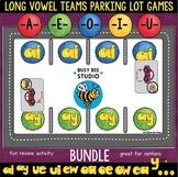 Long Vowel Teams Games | Bundle | Parking Lot