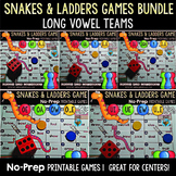 Long Vowels Games: Snakes & Ladders