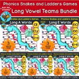 Long Vowels Games | Snakes & Ladders | Bundle