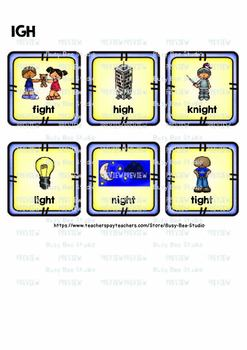 Long Vowel Teams I Sorts | ie, igh, y, i-e