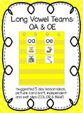 Long Vowel Teams: OA & OE (Color and B&W)