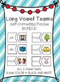 Long Vowel Teams: Self-Correcting Puzzles BUNDLE