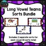Long Vowel Teams Sorts Bundle