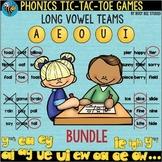 Long Vowel Teams Games   Tic-Tac-Toe   BUNDLE