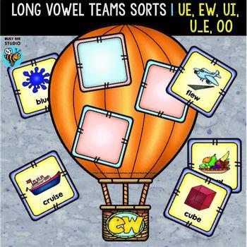 Long Vowel Teams U Sorts   ue, ui, ew, u-e, oo