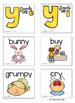 Long Vowel Teams: Y like E  & Y like I (Color and B&W)