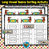 Long Vowel Teams -a-, -o-, -i-, -e-, -u- Sorting Activity