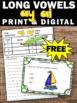 FREE Long a Vowel Teams Task Cards Phonics Games & Activit