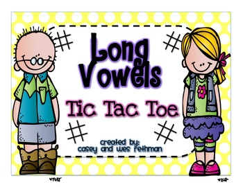 Long Vowel Tic Tac Toe