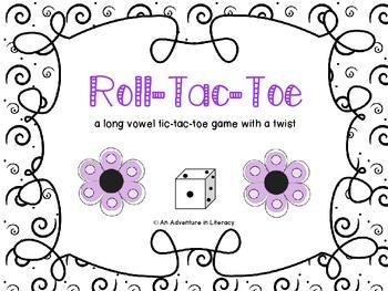 Long Vowel Tic Tac Toe Games