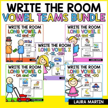 Vowel Teams-Write the Room