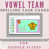 Long Vowel Vowel Team Spelling for Distance Learning