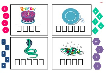 Long Vowel (Wipe Clean/Cut Out) Activity