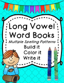 Long Vowel Word Books (multiple spelling patterns)