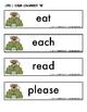 Long Vowel Word Detective Monkeys (Long E)
