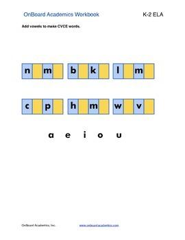 Long Vowel Word Families