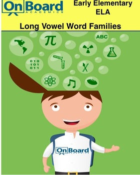 Long Vowel Word Families-Interactive Lessons