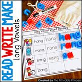 Long Vowel Word Families: Read, Write, Make