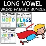 Long Vowel Word Family Bundle