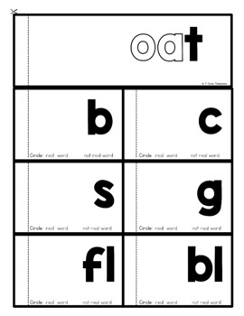 Long Vowel Word Family Flip Books BUNDLE