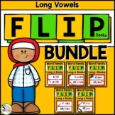 Long Vowel Word Family Phonics FLIP Books BUNDLE