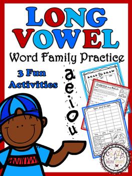 Long Vowel Word Family Fun!