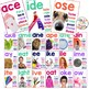 Long Vowel Word Family Posters with Photographs