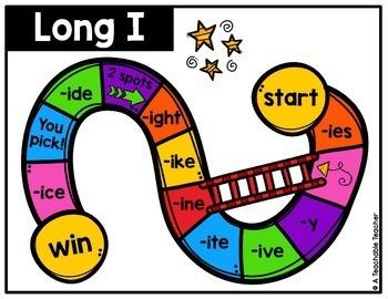 Long Vowel Word Family Slide