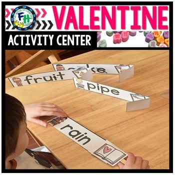 Valentine Activity Center {Long Vowels}