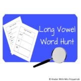 Long Vowel Word Hunt