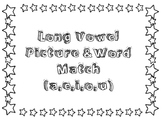 Long Vowel Word & Picture match