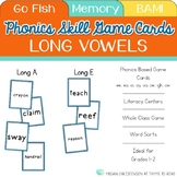 Long Vowel Flash Cards
