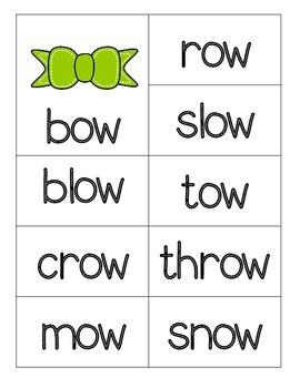 Long Vowel Word Sort Cards for Pocket Charts & More!