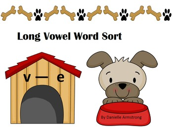Long Vowel Word Sort with Vowel A and O