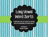 Long Vowel Word Sorts!